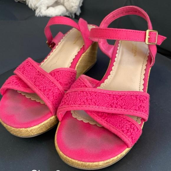 Shoes   Girls Pink Wedges Size 2   Poshmark